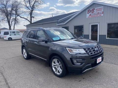 2017 Ford Explorer for sale at B & B Auto Sales in Brookings SD