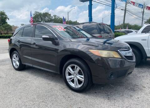 2015 Acura RDX for sale at AUTO PROVIDER in Fort Lauderdale FL