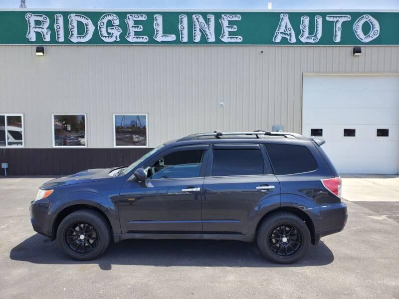 2009 Subaru Forester for sale at RIDGELINE AUTO in Chubbuck ID