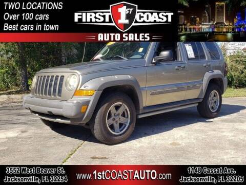 2005 Jeep Liberty for sale at 1st Coast Auto -Cassat Avenue in Jacksonville FL