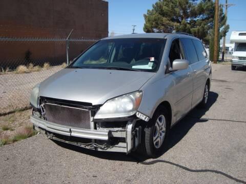 2007 Honda Odyssey for sale at One Community Auto LLC in Albuquerque NM