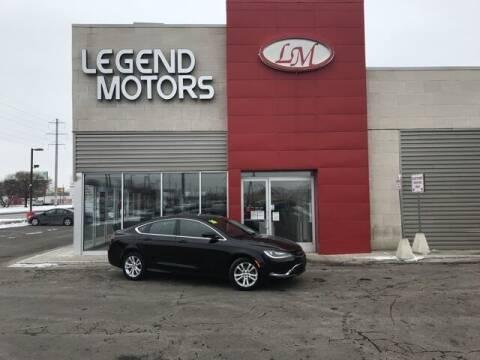 2016 Chrysler 200 for sale at Legend Motors of Detroit - Legend Motors of Ferndale in Ferndale MI