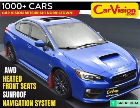 2015 Subaru WRX for sale at Car Vision Buying Center in Norristown PA