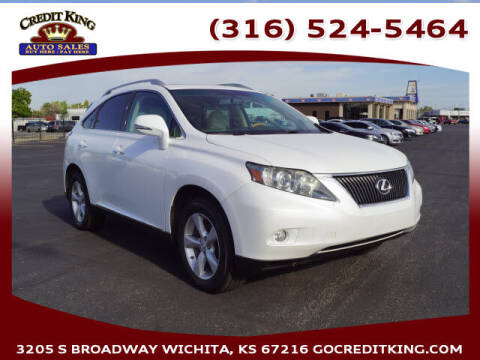 2010 Lexus RX 350 for sale at Credit King Auto Sales in Wichita KS