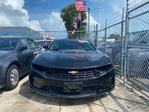 2019 Chevrolet Camaro for sale at Eden Cars Inc in Hollywood FL