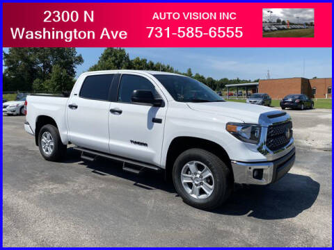 2020 Toyota Tundra for sale at Auto Vision Inc. in Brownsville TN