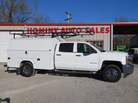 2015 Chevrolet Silverado 3500HD for sale at HOMINY AUTO SALES in Hominy OK