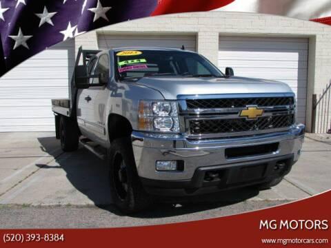 2013 Chevrolet Silverado 2500HD for sale at MG Motors in Tucson AZ