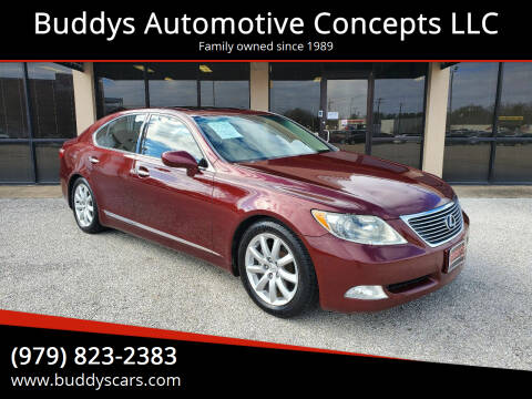 2007 Lexus LS 460 for sale at Buddys Automotive Concepts LLC in Bryan TX