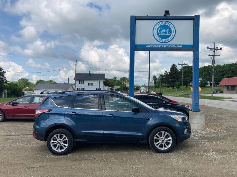 2018 Ford Escape for sale at Corry Pre Owned Auto Sales in Corry PA