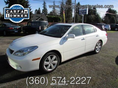 2005 Lexus ES 330 for sale at Hall Motors LLC in Vancouver WA
