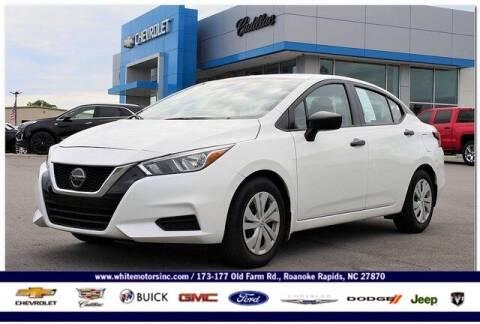 2020 Nissan Versa for sale at WHITE MOTORS INC in Roanoke Rapids NC