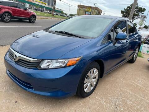 2012 Honda Civic for sale at Automay Car Sales in Oklahoma City OK