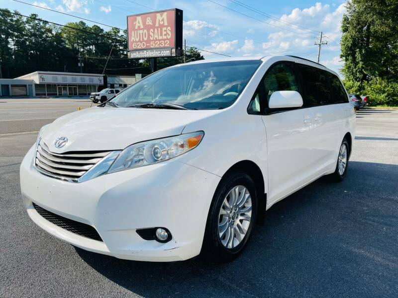 2012 Toyota Sienna for sale at A & M Auto Sales, Inc in Alabaster AL