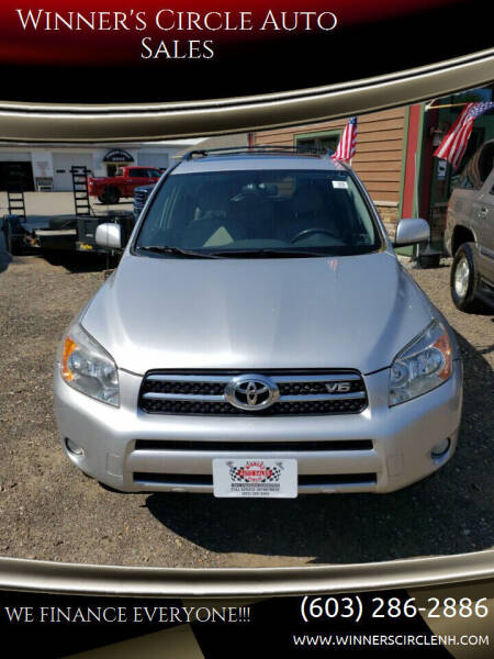 2008 Toyota RAV4 for sale at Winner's Circle Auto Sales in Tilton NH