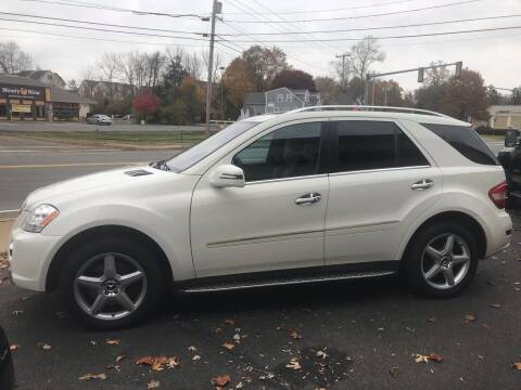 2011 Mercedes-Benz M-Class for sale at BORGES AUTO CENTER, INC. in Taunton MA