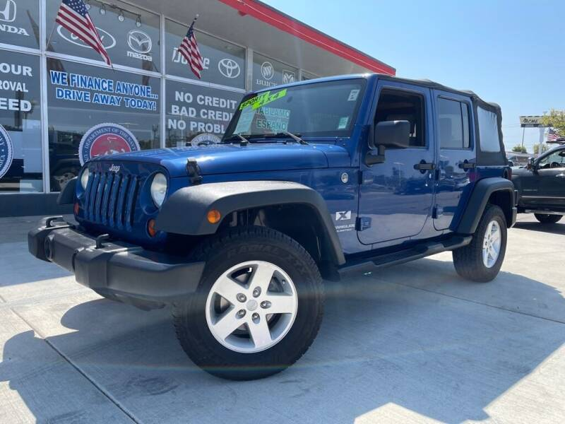 2009 Jeep Wrangler Unlimited for sale at VR Automobiles in National City CA