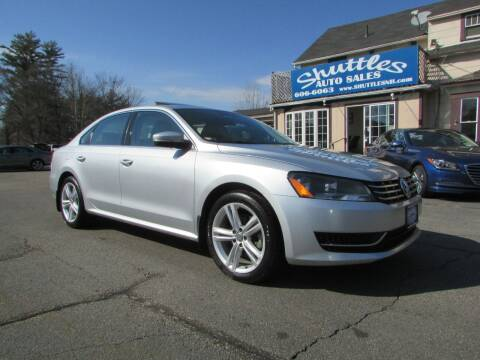 2014 Volkswagen Passat for sale at Shuttles Auto Sales LLC in Hooksett NH