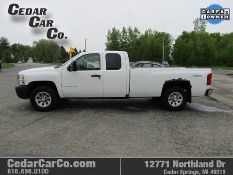2007 Chevrolet Silverado 1500 for sale at Cedar Car Co in Cedar Springs MI
