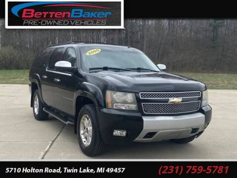 2009 Chevrolet Suburban for sale at Betten Baker Preowned Center in Twin Lake MI