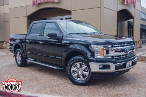 2019 Ford F-150 for sale at Mcandrew Motors in Arlington TX