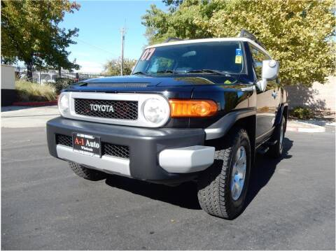 2007 Toyota FJ Cruiser for sale at A-1 Auto Wholesale in Sacramento CA