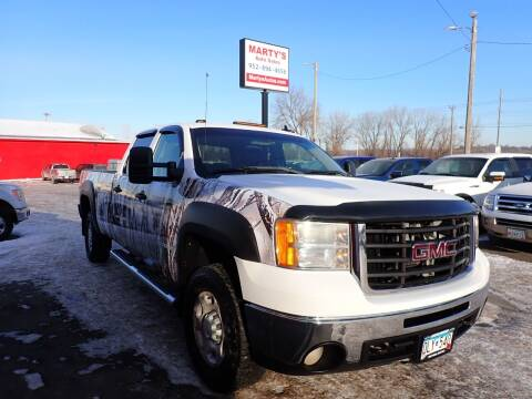 2007 GMC Sierra 2500HD for sale at Marty's Auto Sales in Savage MN