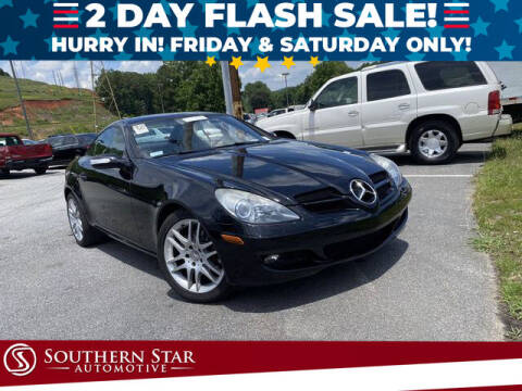 2007 Mercedes-Benz SLK for sale at Southern Star Automotive, Inc. in Duluth GA