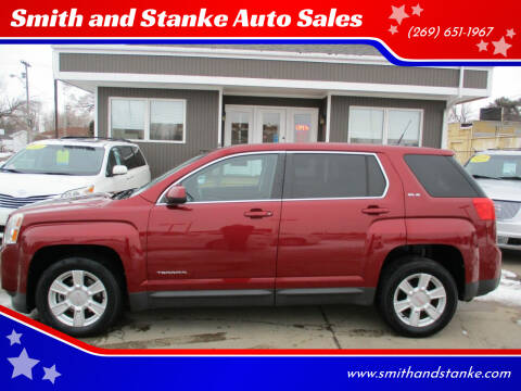 2012 GMC Terrain for sale at Smith and Stanke Auto Sales in Sturgis MI