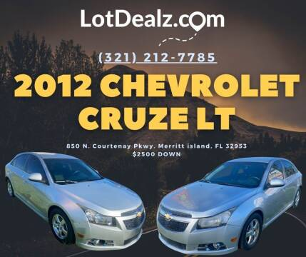 2012 Chevrolet Cruze for sale at ROCKLEDGE in Rockledge FL