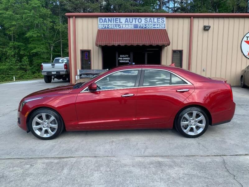 2013 Cadillac ATS for sale at Daniel Used Auto Sales in Dallas GA