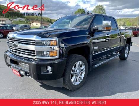 2016 Chevrolet Silverado 2500HD for sale at Jones Chevrolet Buick Cadillac in Richland Center WI