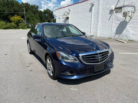 2016 Mercedes-Benz E-Class for sale at LUXURY AUTO MALL in Tampa FL