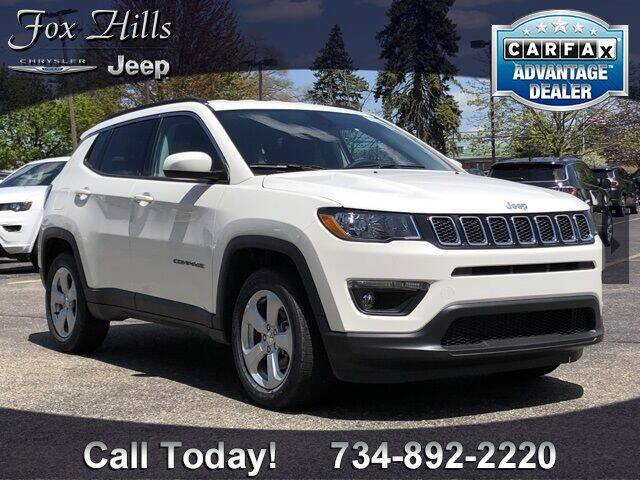 2020 Jeep Compass for sale in Plymouth, MI