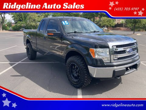 2013 Ford F-150 for sale at Ridgeline Auto Sales in Saint George UT