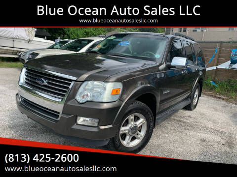 2008 Ford Explorer for sale at Blue Ocean Auto Sales LLC in Tampa FL