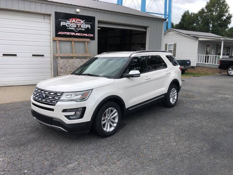 2016 Ford Explorer for sale at Jack Foster Used Cars LLC in Honea Path SC