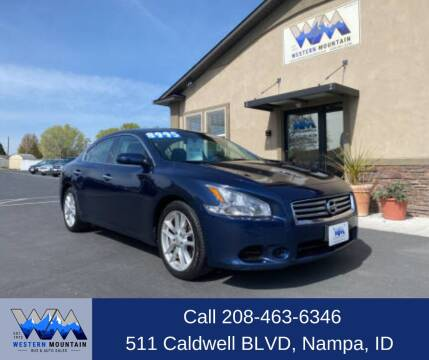 2013 Nissan Maxima for sale at Western Mountain Bus & Auto Sales in Nampa ID