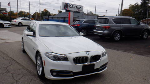2015 BMW 5 Series for sale at Quattro Motors 2 - 1 in Redford MI