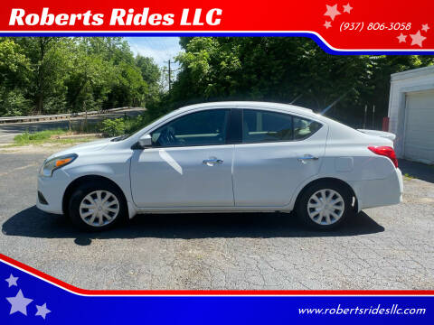 2016 Nissan Versa for sale at Roberts Rides LLC in Franklin OH
