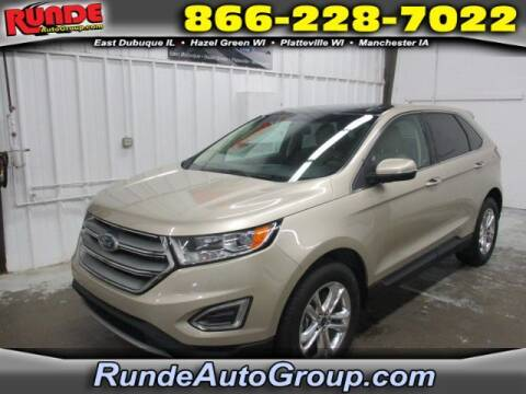 2017 Ford Edge for sale at Runde Chevrolet in East Dubuque IL