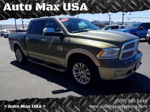2013 RAM Ram Pickup 1500 for sale at Auto Max USA in Yakima WA