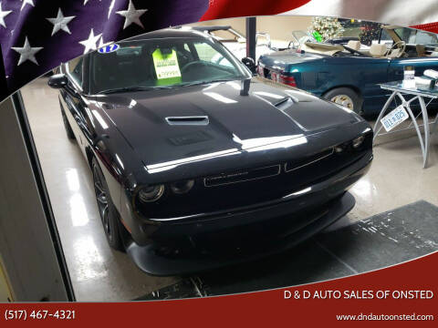 2017 Dodge Challenger for sale at D & D Auto Sales Of Onsted in Onsted   Brooklyn MI
