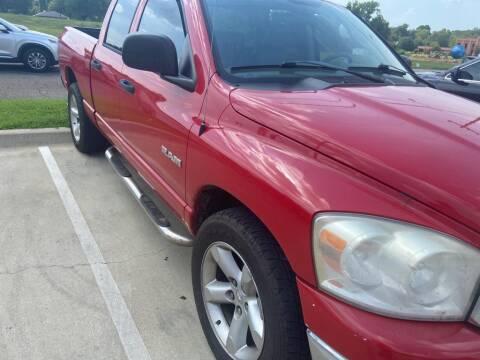 2008 Dodge Ram Pickup 1500 for sale at Stanley Ford Gilmer in Gilmer TX