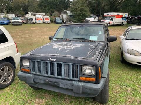 1998 Jeep Cherokee for sale at Nash's Auto Sales Used Car Dealer in Milton FL