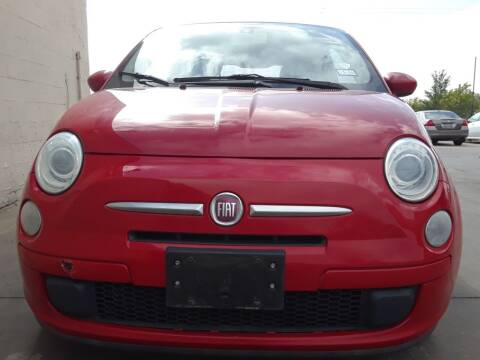 2012 FIAT 500 for sale at Auto Haus Imports in Grand Prairie TX