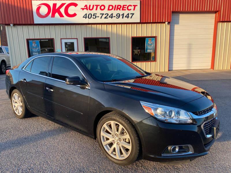 2015 Chevrolet Malibu for sale at OKC Auto Direct in Oklahoma City OK