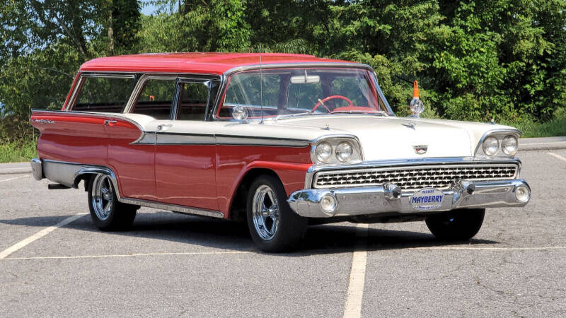 1959 Ford Country Sedan for sale at Rare Exotic Vehicles in Asheville NC