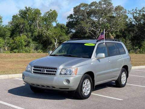 2002 Toyota Highlander for sale at GENESIS AUTO SALES in Port Charlotte FL