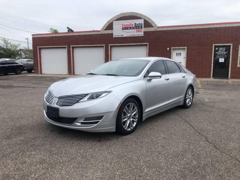 2014 Lincoln MKZ for sale at Family Auto Finance OKC LLC in Oklahoma City OK